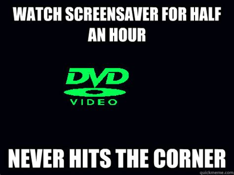Meme Screensaver - watch screensaver for half an hour never hits the corner