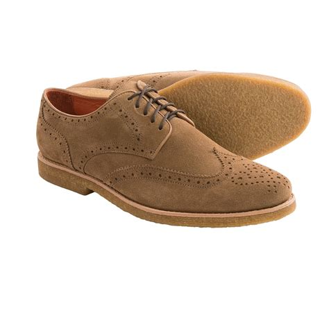 wingtip shoes for millar suede wingtip shoes for save 67