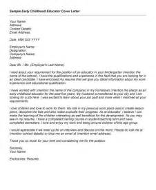 ece cover letter ece cover letter sle the best letter sle