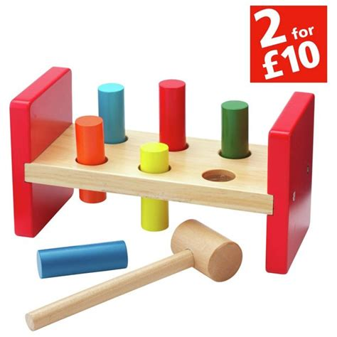 buy chad valley wooden hammer bench at argos co uk your