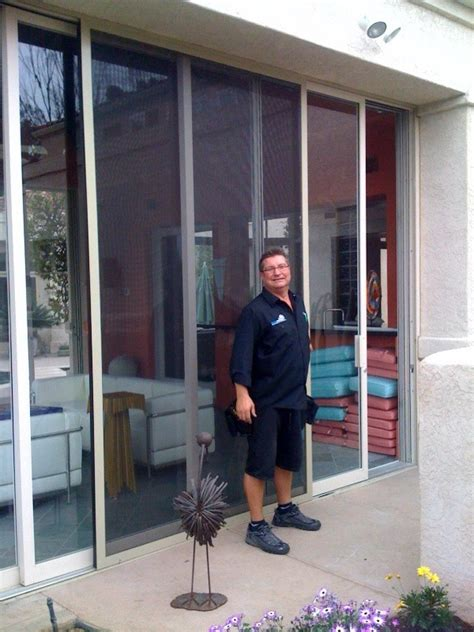 How To Install A Patio Screen Door by Sliding Patio Screen Doors Screenmobile Of