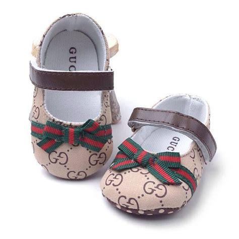 gucci shoes for a stylish baby fashion style
