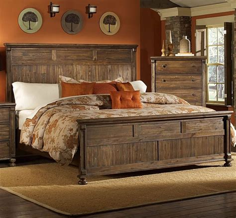 rustic bedroom furniture rustic furniture set home decor pinterest