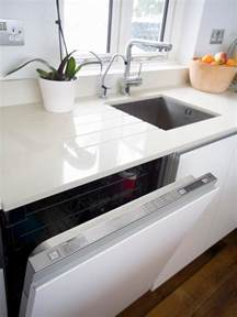 White Kitchen Countertops White Granite Countertops Hgtv