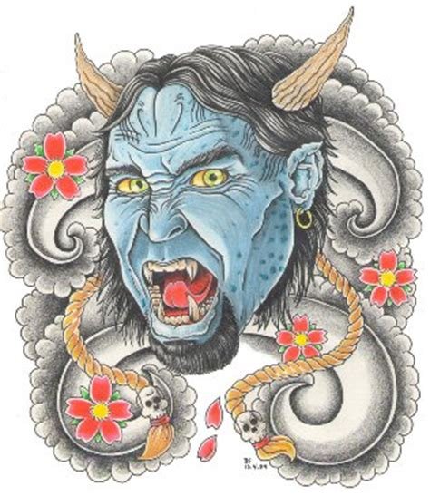 barong tattoo significato hannya mask tattoo flash