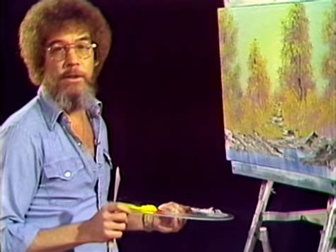 bob ross painting near me happy eclouds episode of of painting