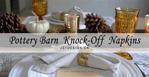 pottery barn knock off curtains pottery barn knock off napkins fall table setting hometalk