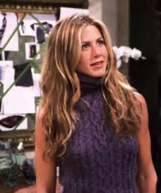 rachel greene wavy hair rachel greens outfits from friends theberry