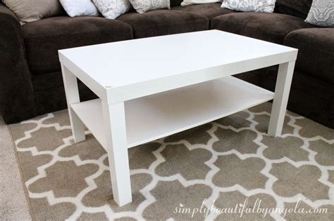 ikea lack coffee table simply beautiful by angela ikea lack coffee table hack