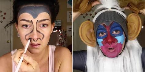 rafiki edibles makeup tutorial video popsugar entertainment