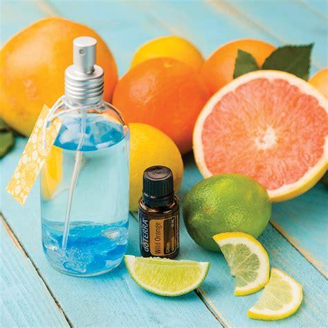 DIY: Citrus Air Freshener   d?TERRA Essential Oils
