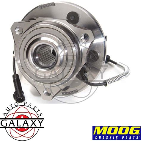 2002 Jeep Liberty Wheel Bearing Moog New Replacement Complete Front Wheel Hub Bearing For