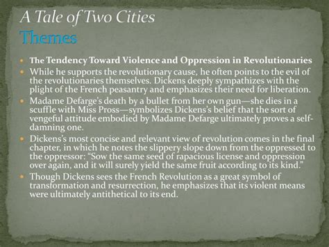 theme essay a tale of two cities ppt charles dickens notes adapted from the advanced