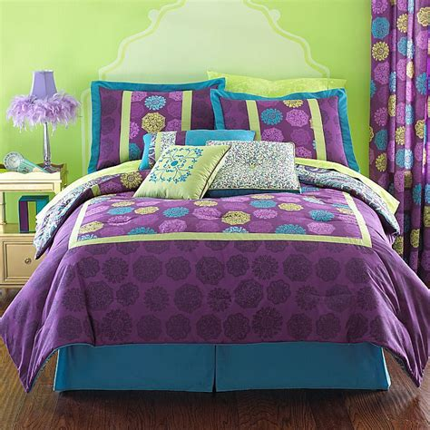 lime green and purple bedding sets 17 best images about