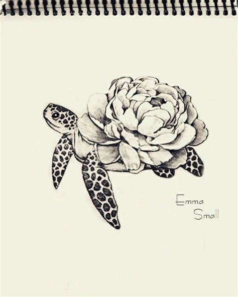 best 25 small turtle ideas collection of 25 small hawaiian turtle and flowers tattoos