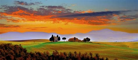 Forest House by By Antino Cervigni Tuscan Sunset Pixdaus