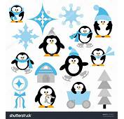 Free Winter Penguin Clip Art 66