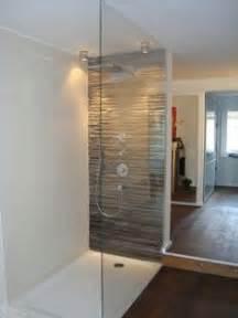 glasabtrennung dusche feststehend breite begehbare dusche mit glas haus