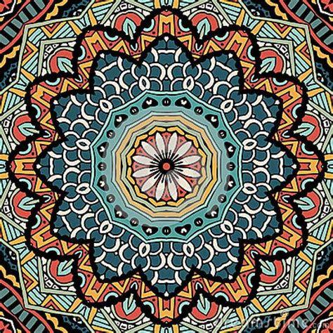 colorful ethnic wallpaper abstract vintage ethnic tribal pattern stock photo image