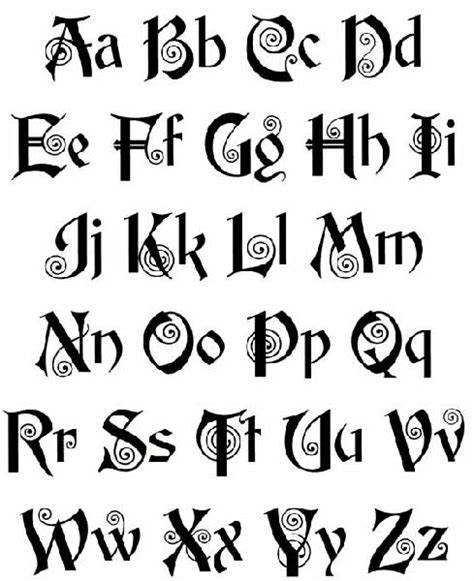 design online letters celtic lettering old english lettering tattoos art