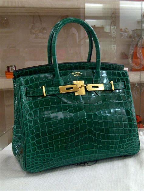 Hermes Croco Glossy hermes birkin 30 croco nilo shiny shoe emerald ghw hermes birkin hermes birkin