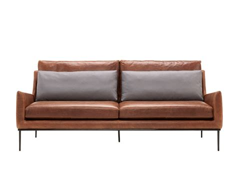 Contempo Leather Sofa Upholstered Leather Sofa 3 Seater Sofa Collection By Contempo Design Luca Scacchetti