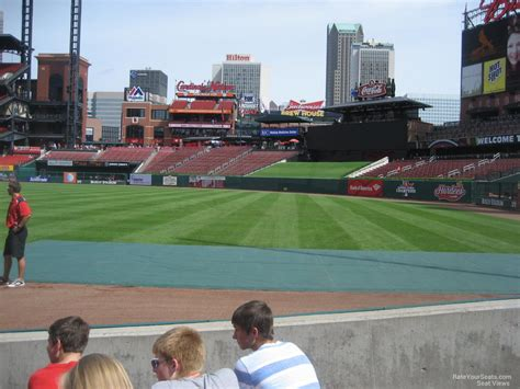 section 132 f busch stadium section 132 rateyourseats com