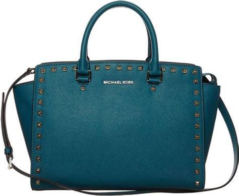 michael michael kors handbag turquoise in blue turquoise