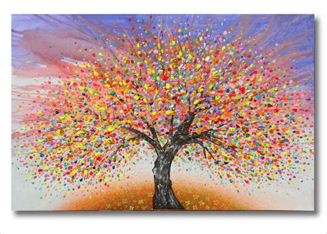 9 Beautiful Tree Paintings Free Sle Exle Format Free Premium Templates Canvas Painting Templates Free