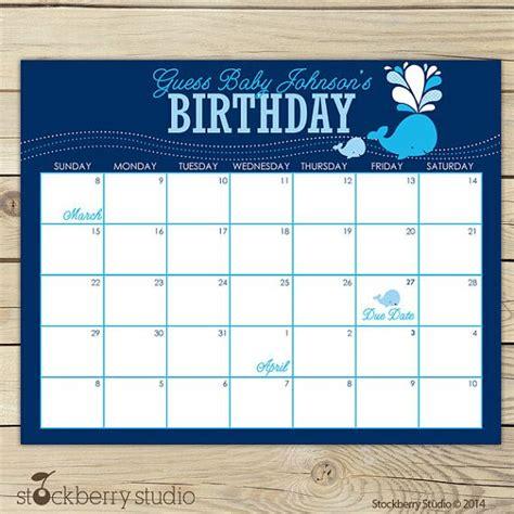 december 2018 printable calendar birth announcement ideas digital