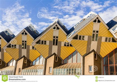Cement House Plans cube house rotterdam stock image image of cubic houses