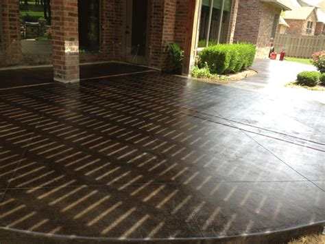 Pictures Of Stained Concrete Patios stained concrete patio bill s custom concrete oklahoma city s best concrete contractor and