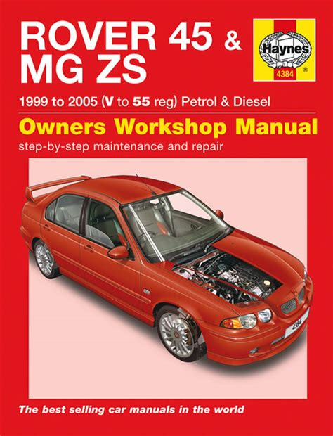 what is the best auto repair manual 1999 lotus esprit engine control haynes manual rover 45 mg zs petrol diesel 1999 2005