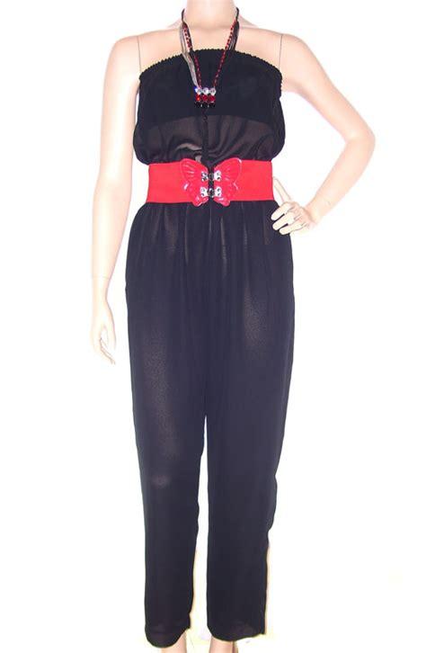 vintage 80 s black disco jumpsuit hippie couture