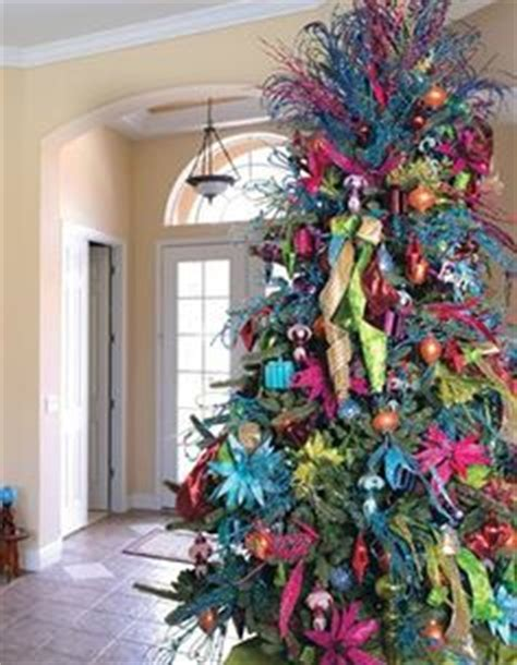 colorful decorated trees 1000 images about fa la la la la fabulous