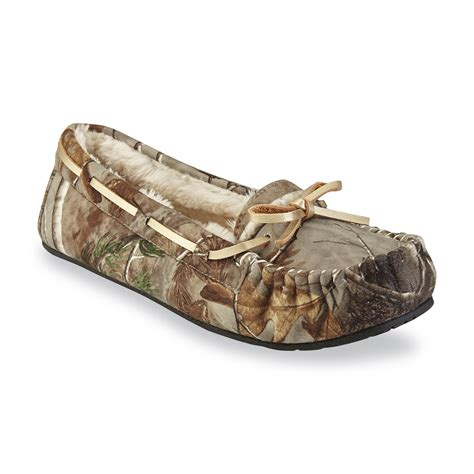 camouflage slippers joe boxer s meadow multicolor camouflage moccasin