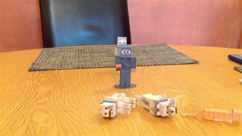 Minecraft Papercraft Cat - minecraft papercraft cat