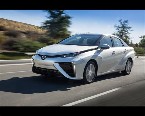 Toyota Hydrogen Toyota Mirai Hydrogen Fuel Cell 2015