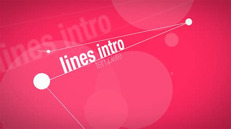 free motion 5 intro templates videohive lines intro apple motion templates free