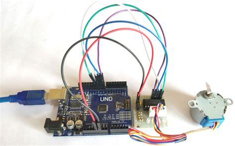 arduino code to control stepper motor arduino stepper motor control tutorial with code and