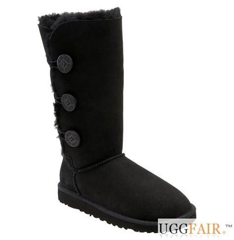 black bailey button triplet ugg boots uggfair ugg