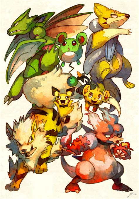 Game Pokemon Giveaway - shiny pokemon giveaway by bluekomadori on deviantart