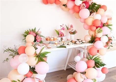 Balloon Garland Ideas Archives   Pretty My Party