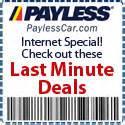 Car Rental Usa Discount Codes Payless Car Rentals Coupons
