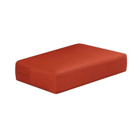 outdoor ottoman cushion replacement martha stewart living charlottetown quarry replacement