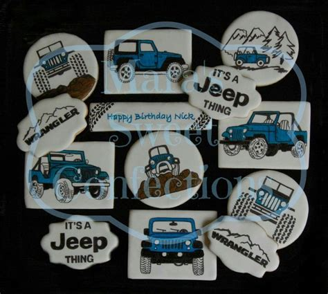 jeep cookies 107 best images about vehicle theme on bel air