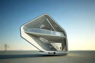 Futuristic home design and style for extreme hot temperatures