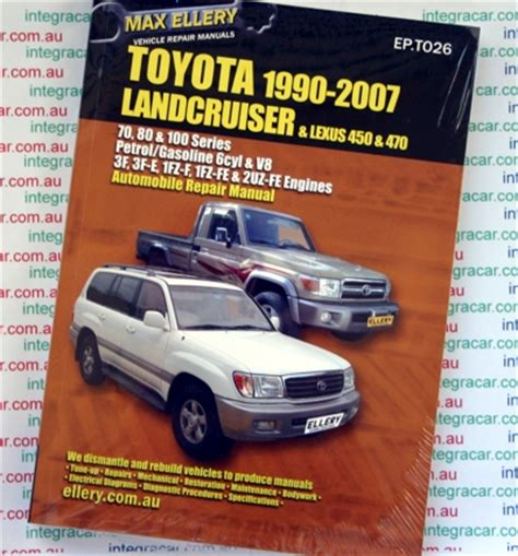 Toyota Landcruiser 80 Series Workshop Manual Free Toyota Landcruiser 1990 2007 Petrol 70 80 100 Series