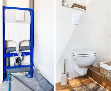 Einbau Schiebetür In Wand by Wc Austauschen Toilette Einbauen So Geht S Bauen De