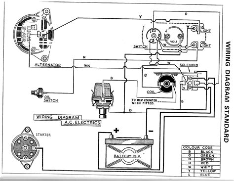 lucas 128 sa ignition switch wiring diagram sa